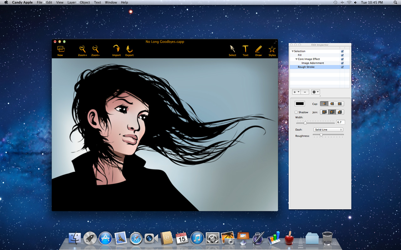 Graphic Design App Candy Apple Updated to Version 1.8 Image