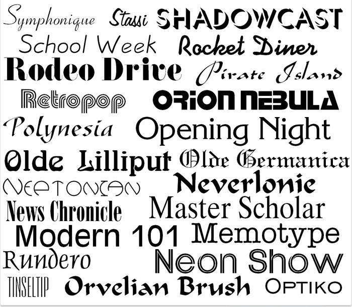 1000 OpenType Fonts | MacAppware – Mac optimizer, Mac
