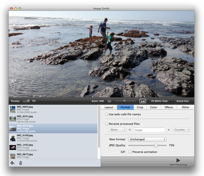 Image Smith - Batch Image Processing for Mac