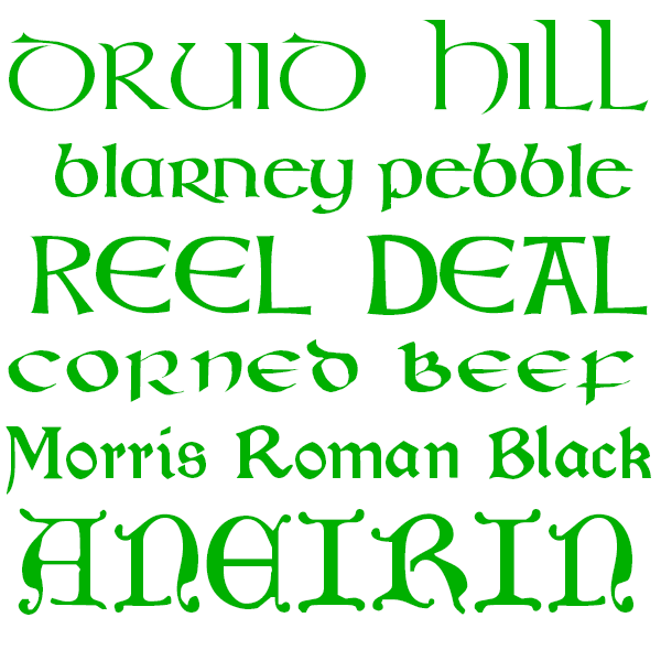 Free Celtic Fonts