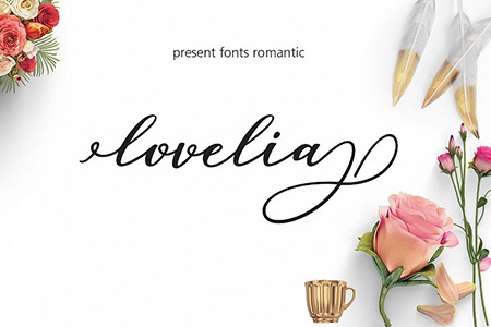 Lovelia Free Font