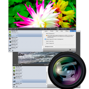 Image editing and batch processing for Mac