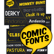 Comic Fonts for commercial use