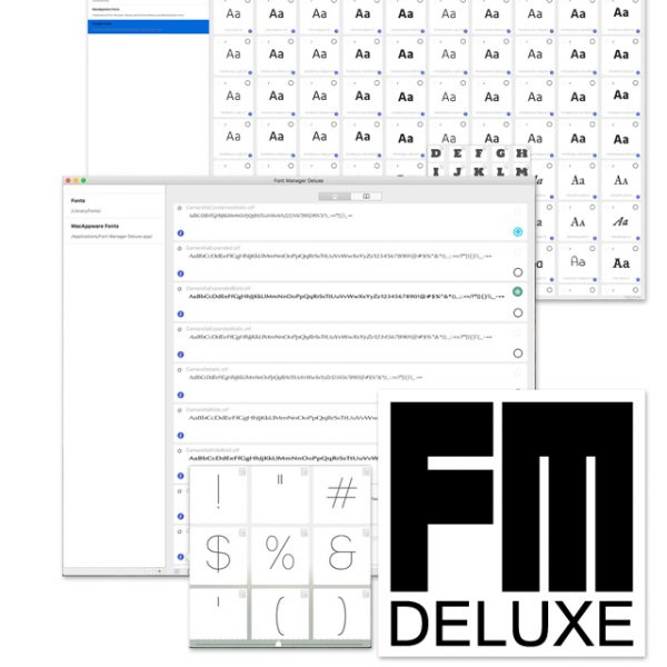Mac Font Manager Deluxe
