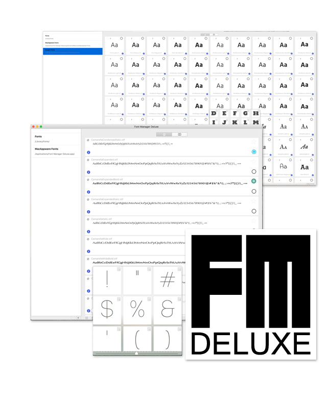 mac font manager deluxe macappware