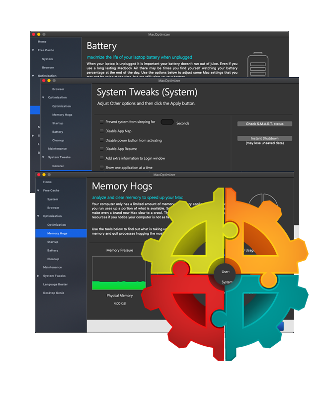 How To Clear Memory On Mac >> Macoptimizer Mac Disk Utility Macappware